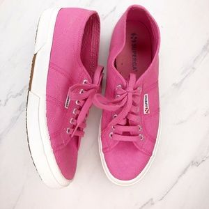 Superga 2750 Cotu Classic Sneaker Shoes Pink 42